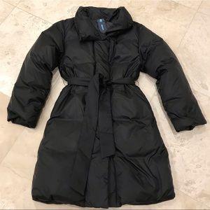 Gap down puffer jacket